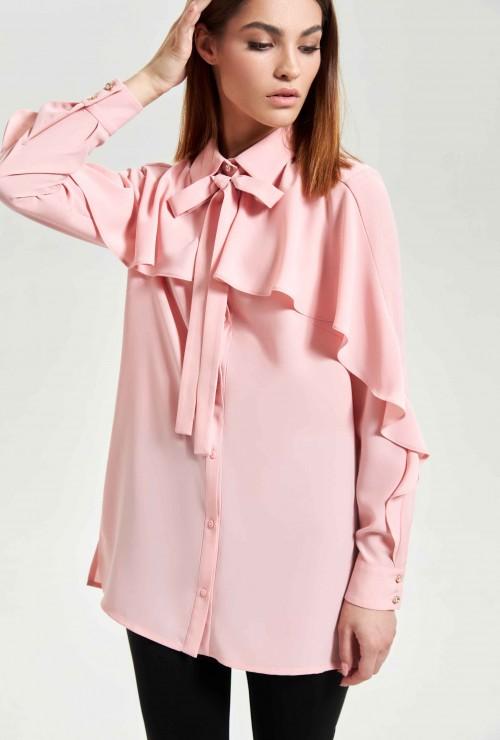 Блуза Розовая